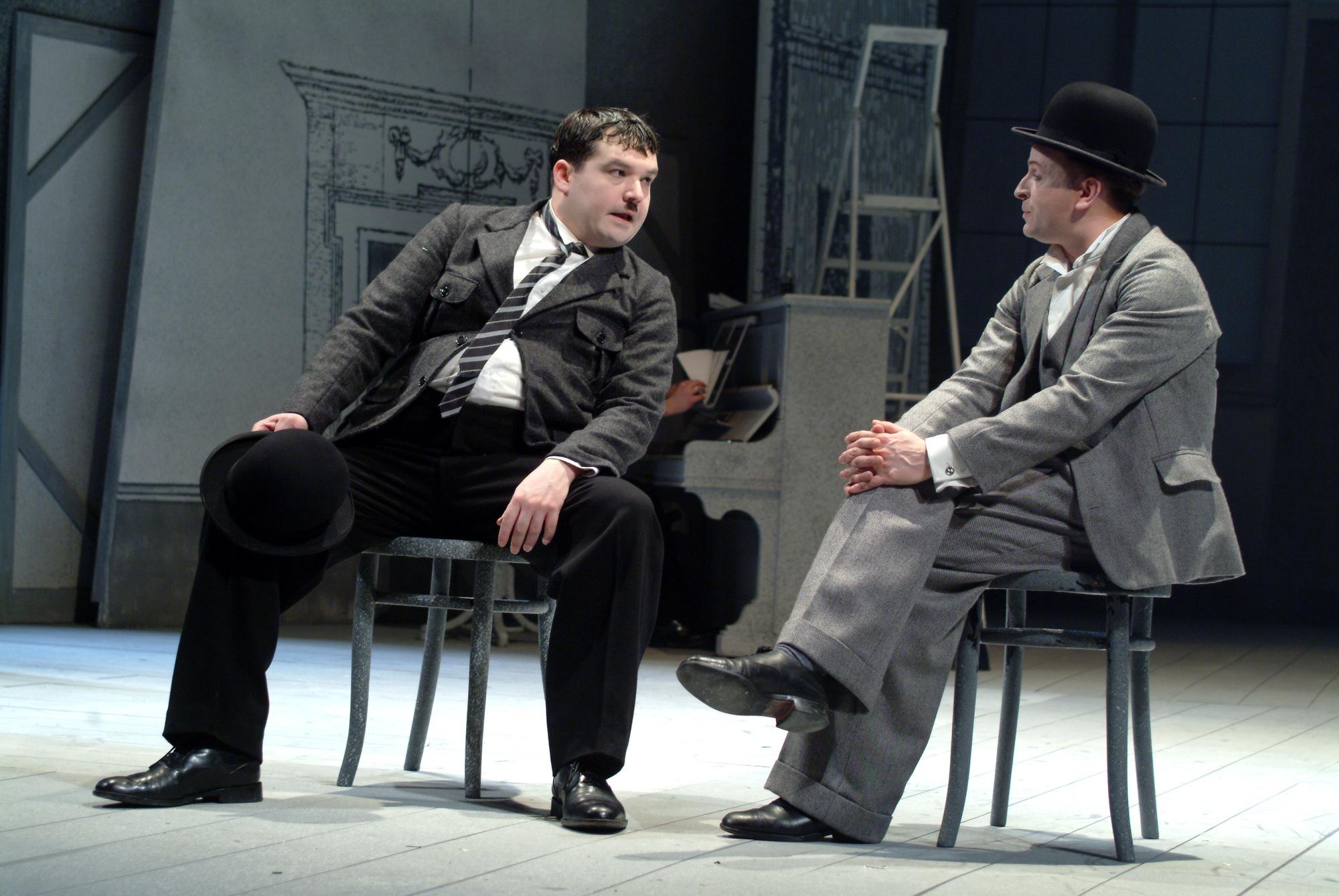 {Laurel & Hardy in Edinburgh}